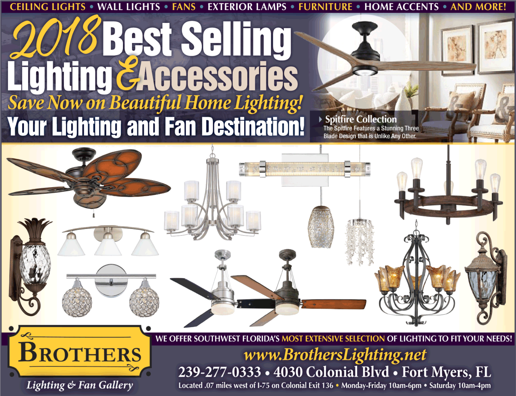 sc 1 st  Fort Myers Florida Weekly & Brothers Lighting