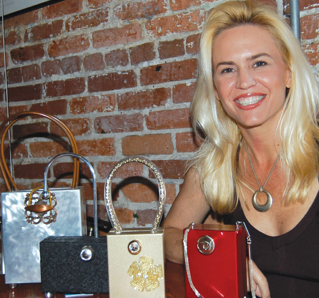 Photo Florida Weekly Entrepreneur Martine Cronin Featured With Her One Of A Kind