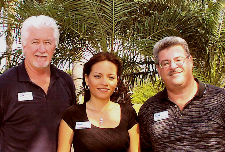 COURTESY PHOTO Lee-Max team; Lee Reeves, Erika Rodriguez and Barry Soloman