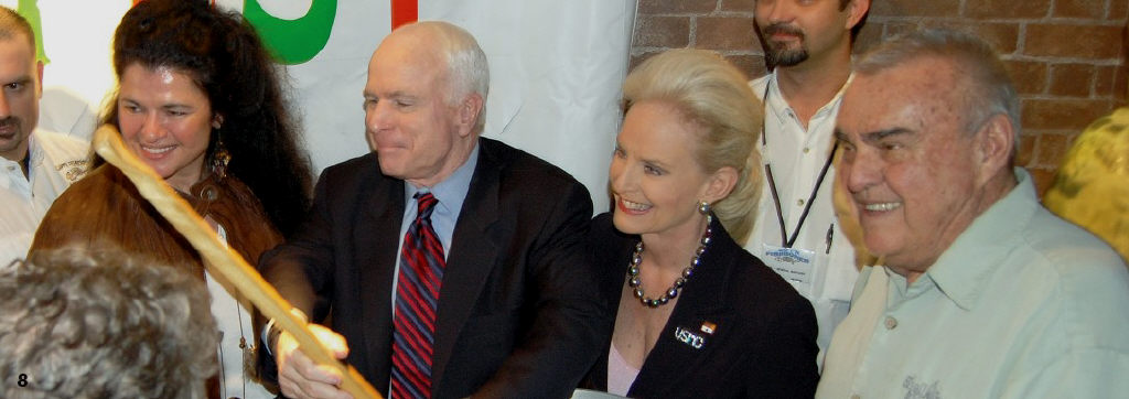 McCain Rally at the Shell Factory | Fort Myers Florida Weekly