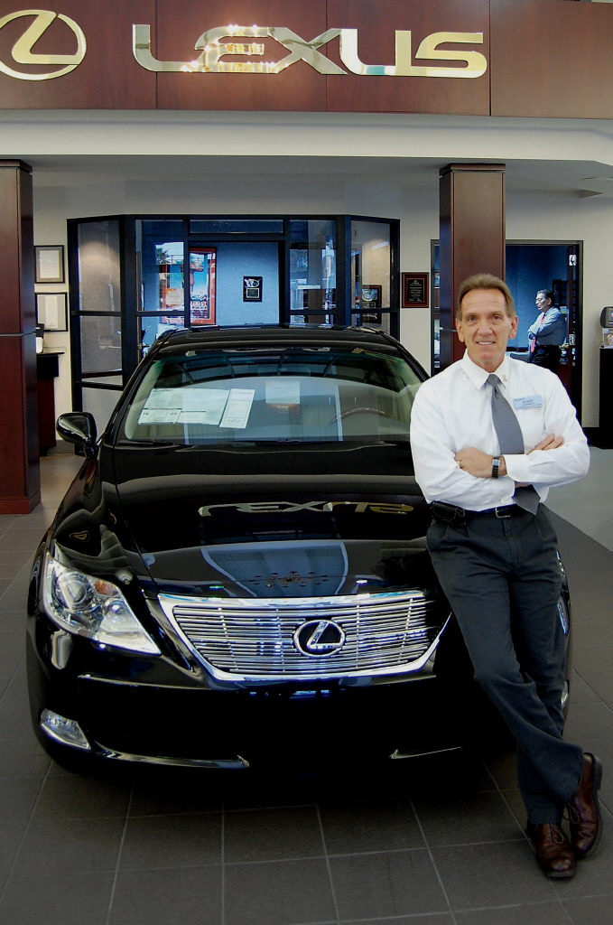 Charming EVAN WILLIAMS / FLORIDA WEEKLY Scanlon Lexus Service And Parts Director  Robert Gonnelli.