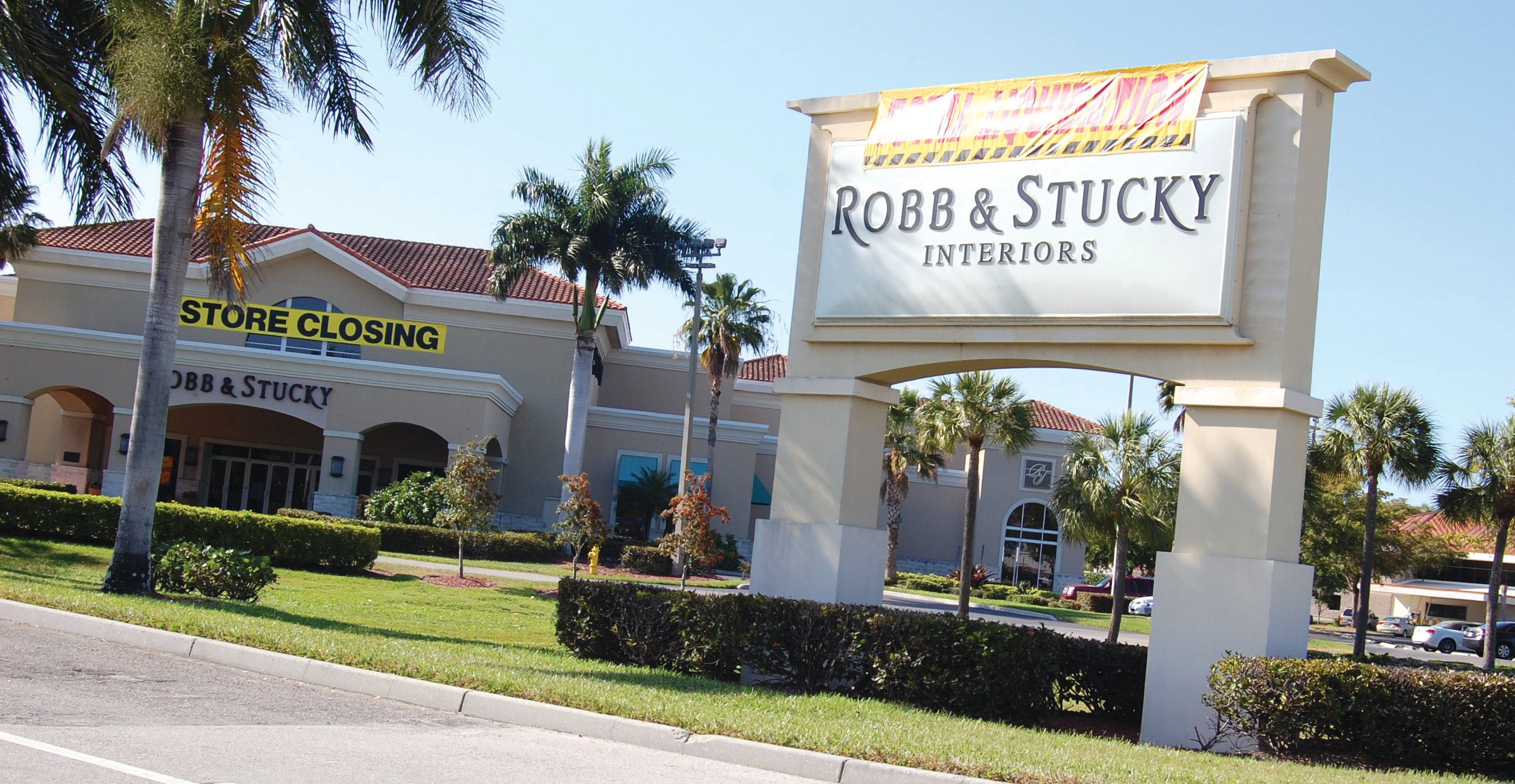 Inventory At The Robb Stucky In Fort Myers Is Being Liquidated Along With
