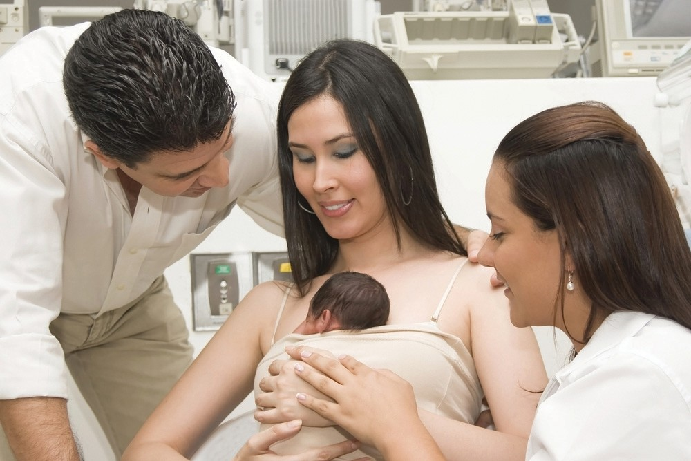 A golden hour for bonding after birth of baby | Fort Myers