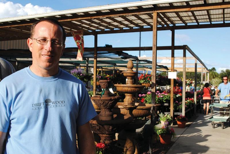 Chester LeMay Of Driftwood Garden Center In Estero.