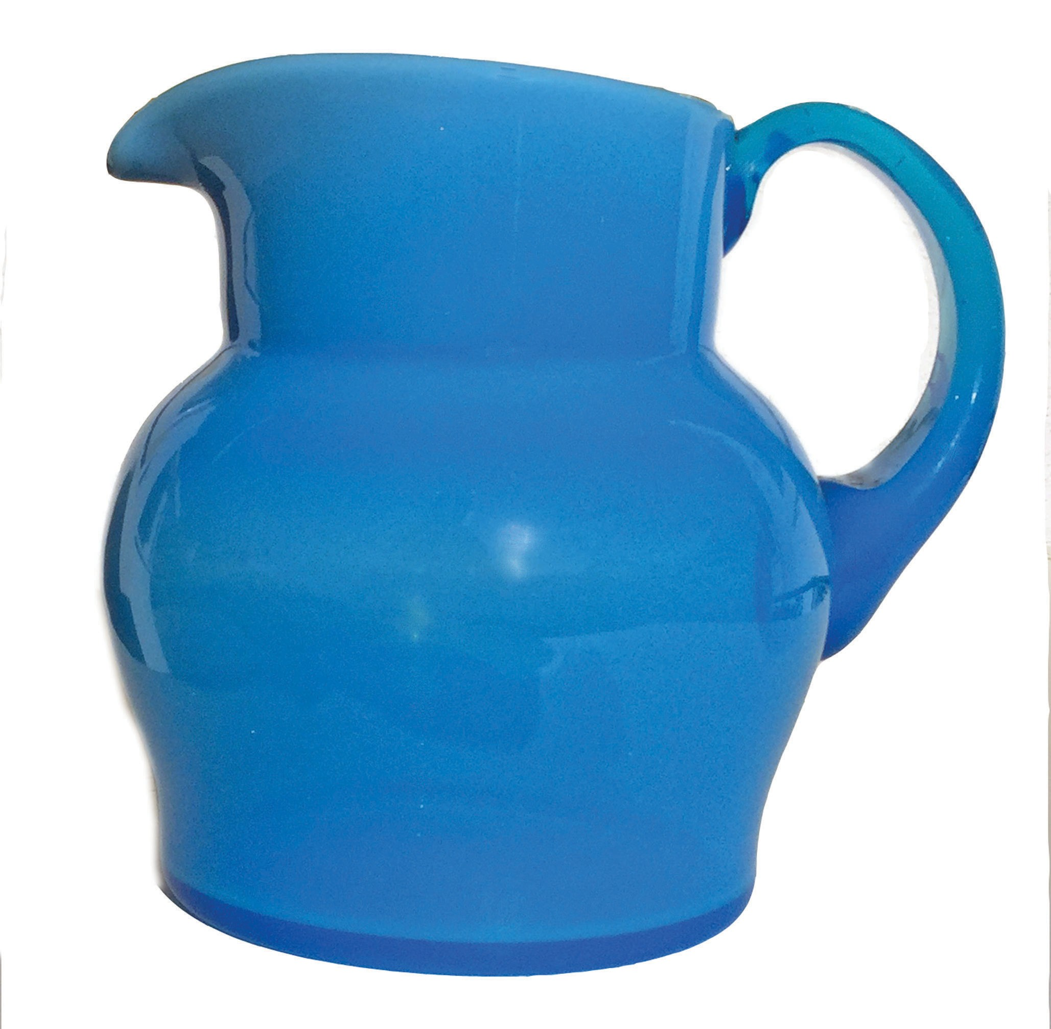 the find blue jade pitcher by steuben glass works fort myers