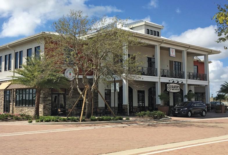 Slater's goods building exterior
