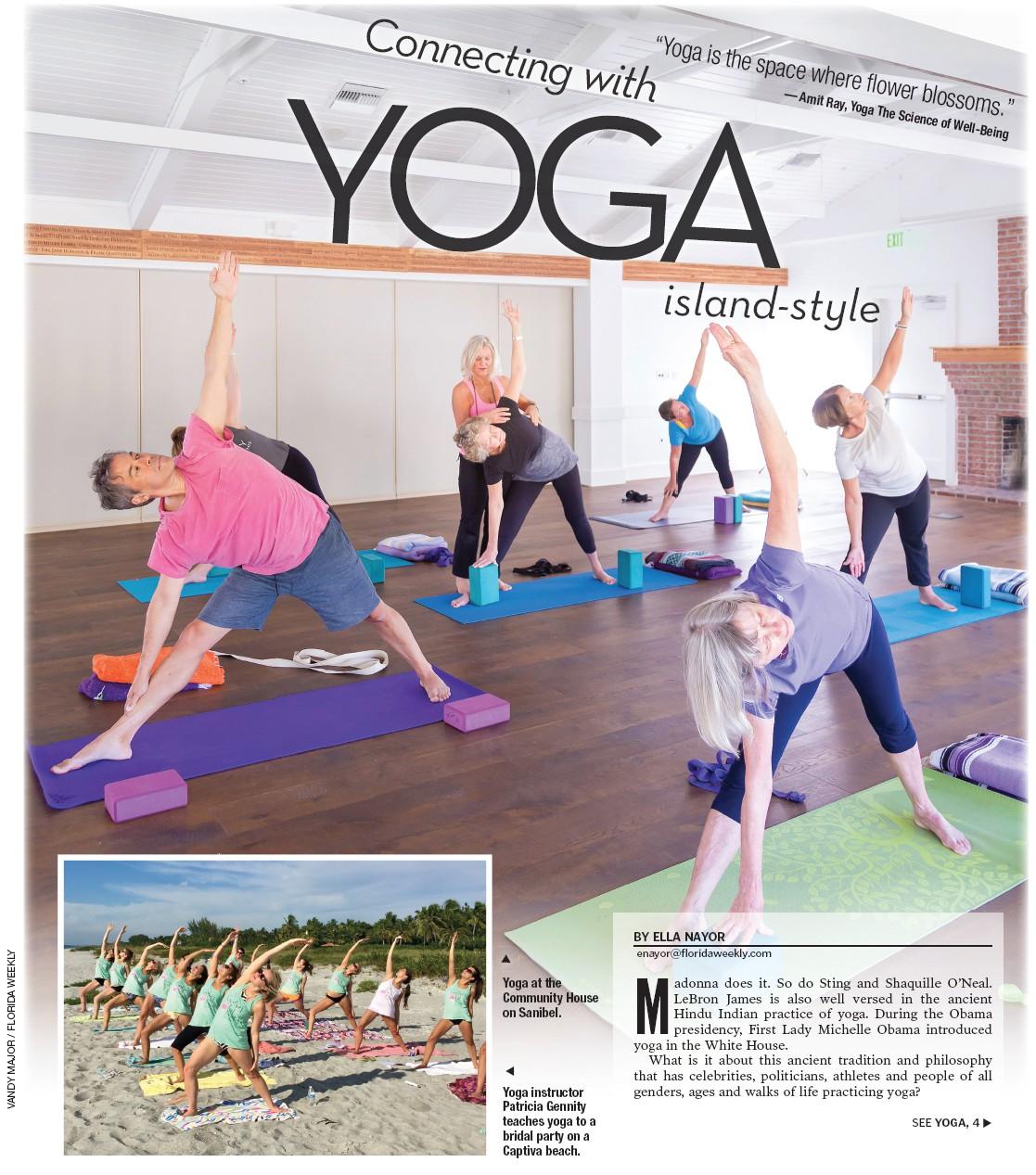 Yoga At The Community House On Sanibel