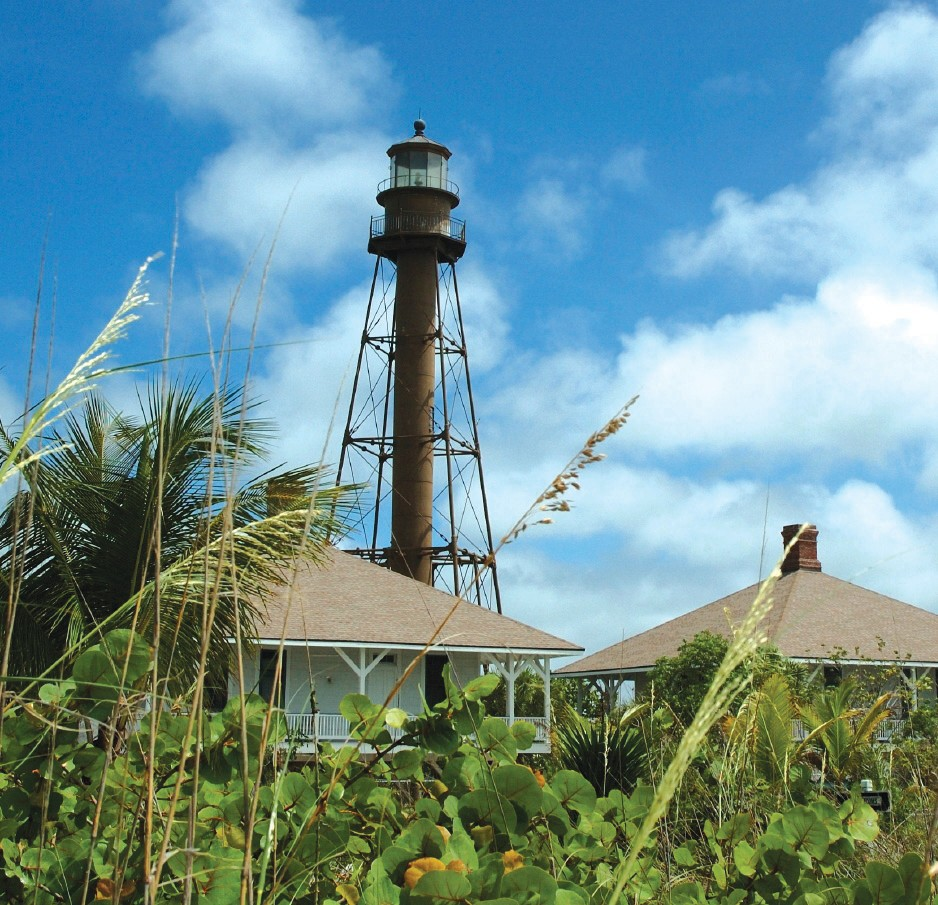 Sanibel Island Light Is Located On The Eastern Tip Of Sanibel.