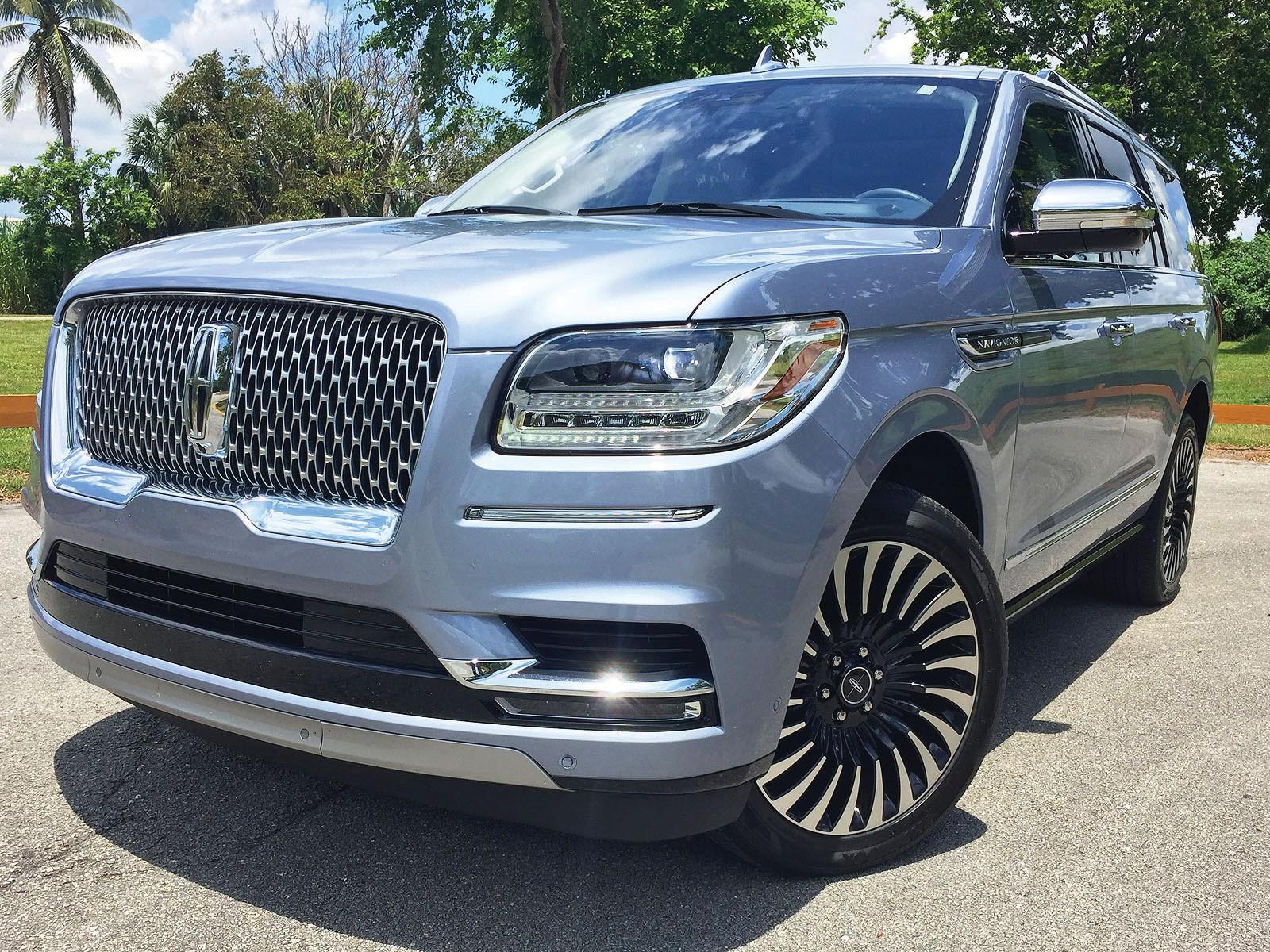2018 Lincoln Navigator Sturdy Suv Solid Luxury Hefty Price