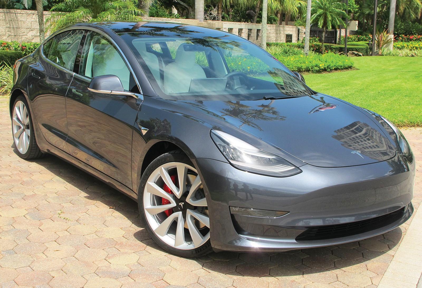 The Tesla Model 3 Has A Sleek Design Courtesy Photo