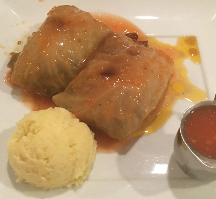 Golobki are Polish cabbage rolls stuffed with ground meat and rice. DREW STERWALD / FLORIDA WEEKLY