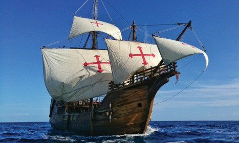 Spanish sailing replica visits Fort Myers Beach | Fort Myers Florida Weekly