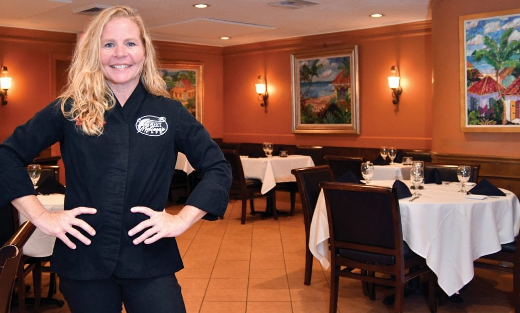 Melissa Donahue, executive chef