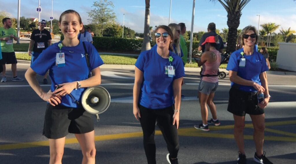 AHA kickoff and a 5K in Estero with Lee Health. HEALTHY LEE / COURTESY PHOTO