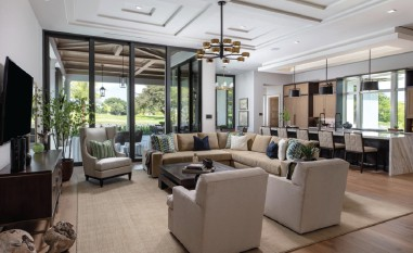Stock Custom Homes' Model in Palm Beach