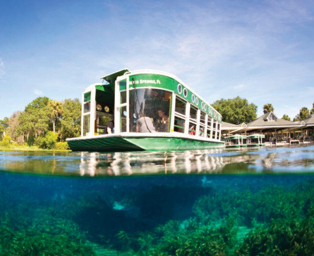 Silver Springs, near Ocala, is Florida's oldest tourist attraction. Glass bottom boats first navigated the waters in the late 1800s.