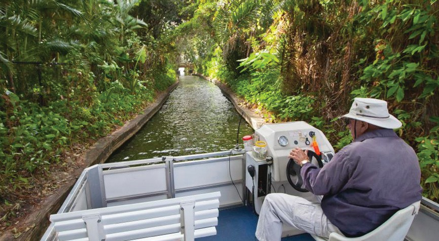 Scenic Boat Tours has offered excursions along the lakes and canals of Winter Park since 1938.