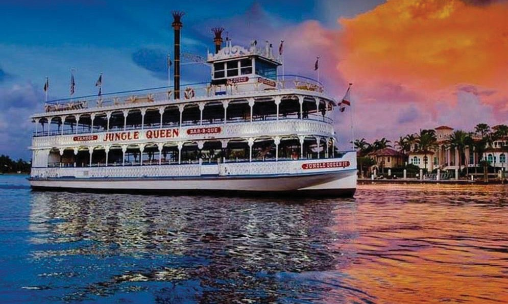 The Jungle Queen has plied the waters around Fort Lauderdale since 1935. COURTESY PHOTOS